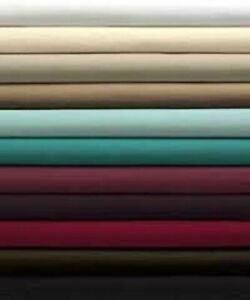 Non Iron Percale Bed Sheet Deep Fitted Sheet Plain Deep Fitted Bed Sheet Bedding