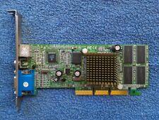 XFX Nvidia GeForce2 MX400 AGP 64MB SDRAM VGA S-Video RCA Graphics Video Card