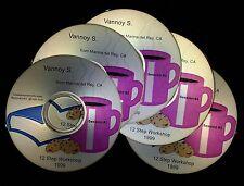 Vannoy S * 12 Step Workshop * 5 CD set, Al-Anon Speaker alanon recovery talk AFG