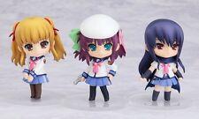 Nendoroid Petite Angel Beats! Set 01 Yuri, Yusa, Shiina