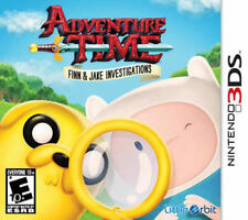 Adventure Time Finn and Jake Investigations 3DS New Nintendo 3DS, Nintendo 3DS