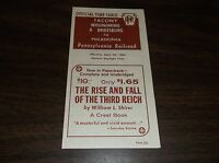 APRIL 1962 PRR TACONY, OPA WISSINOMING, PA FORM 121 OFFICIAL TIME TABLE