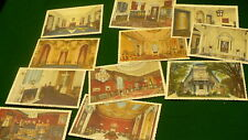 Eastern Star Belmont mansion postcards headquarters Washington DC 11 lot  #1098