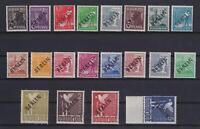 Berlin 1-20 Schwarzaufdruck postfrisch komplett tw. geprüft Schlegel (kt416)