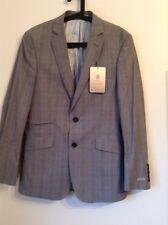 BNWT 100% Auth Alexandre Savile Row, Mens Luxury Grey Jacket. RRP £125.00