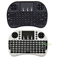 Mini teclado inalámbrico 2.4G USB Touchpad Handheld para Android Smart TV BOX ES