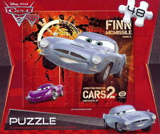 NEW ~ DISNEY ~ CARS 2 MOVIE ~ 48 PIECE PUZZLE ~ FINN MCMISSILE