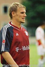 Alexander Zickler Bayern München 02-03 seltenes Foto+2
