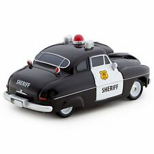 Disney Store Cars 2 Die Cast Collector Case Sheriff 1:43 Scale NEW