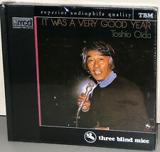 XRCD CD TBM-XR-0064: TOSHIO OIDA - It Was A Very Good Year 1997 JAPAN OOP SEALED