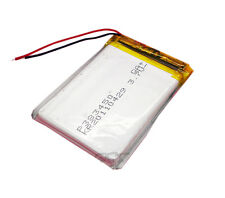 3.7V 650 mAh Lithium  Rechargeable Polymer ion 383450 for bluetooth/mp3 reader