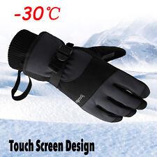 Men -30℃ Waterproof Winter Ski Snow Snowboarding Thermal Warm Thinsulate Gloves