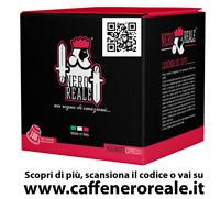 100 CAPSULE CAFFE NERO REALE MISCELA IMPERIALE COMPATIBILI NESPRESSO