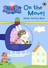 Peppa Pig On the Move! Sticker Activity Book Creative Kids Travel Games Girl Boy
