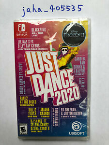 Just Dance 2020 (Nintendo Switch) - Brand New Factory Sealed - Free Shipping
