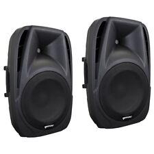 GEMINI ES 8 coppia casse diffusori passivi a 2 vie per DJ animatori karaoke ecc.