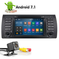 "Camera+ 7"" Android Car Stereo GPS 7.1 OS for BMW E39 M5 Bluetooth A Navigation"
