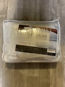 Beckham Luxury Linens FBA_BLL-GLPLW-2PK-K 2 Pack Pillows