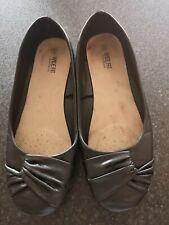 Large wide fit Ladies flat Ballet pumps size 43