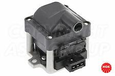 NGK Ignition Coil For VW Polo MK 2 1.0 SPi Catalyst Hatchback 1989-90 (3 Wire)