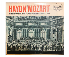 Miniature Classical   'Haydn Mozart Symphony' record album Dollhouse 1:12 scale