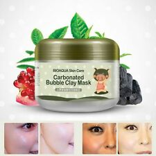 Carbonated Bubble Clay Mask Whitening Oxygen Mud Moisturizing Deep Cleanse 100 g