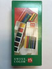 SWISS COLOR BY CARAN D'ACHE KIT SET- BRAND NEW IN BOX
