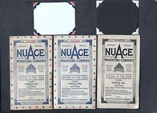 #777 - VINTAGE nuAce MOUNTING CORNERS- 2 PK. VICTORY (RED/WHITE/BLUE) 1 PK WHITE