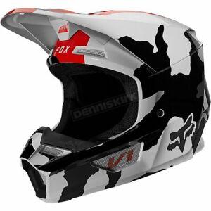 Fox Youth Camo V1 Beserker Special Edition Helmet - 27587-027-YL