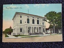 1916 The Post Office in Gadsden, Al Alabama PC
