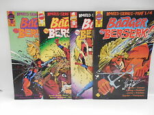 Badger Goes Berzerk First Comic Book Limited Series 1-4 Mike Baron