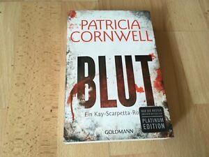 Blut von Patricia Cornwell     THRILLER !!   Klappenbroschur