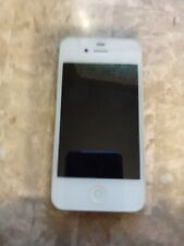 White Apple iPhone 4 excellent condition works good  AS IS