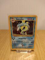 GYARADOS Base Set 6/102 HOLO Near Mint Pokemon Card 1999 Ungraded WOTC