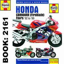 Honda CBR900RR Fireblade 1992-99 Haynes Workshop Manual