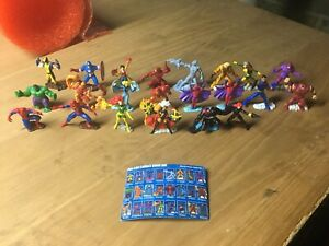 2005 Marvel Comics Zizzle Zizzlingers Figure PVC Superhero Lot