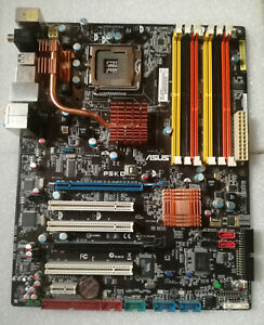ASUS P5KC Rev 1.03G Mainboard Sockel 775 Intel P35 DDR2 DDR3