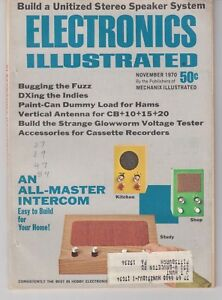 1970  Electronics Illustrated Magazine - CB dummy load and antenna 106 pages /b1