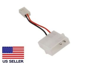 4-pin Molex (M) to 3-pin (F) Fan Adapter Cable