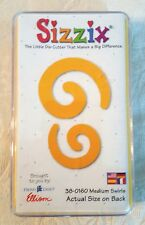 Sizzix 38-0160 Swirls Yellow Medium Die Cut Scrapbook Provo Craft Ellison