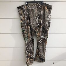 Mens Scent Lok Pants Carbon Alloy Real Tree Edge Camo 3XL 48x32 Stretch