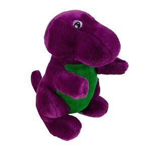 Barney the Dinosaur Vintage 90s Dakin Lyons Group Closed Mouth Plush