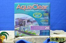 Aquaclear Power Filter for 5-20 US Gallon Aquariums - w/ CycleGuard BioMax Media