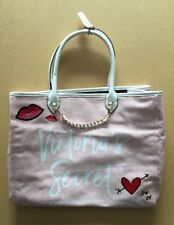 VICTORIA'S SECRET Large Tote Bag - BNWT - Pink - Summer 2018 - Beach / City Bag