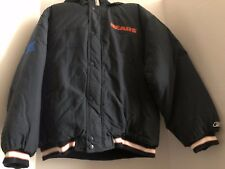 Boy's NEW size XL (18 -20) Reebok Chicago Bears Navy Blue Hooded Jacket