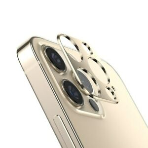 For iPhone 12 Pro Max 12 Metal FULL COVER Tempered Glass Camera Lens Protector