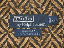Mens POLO RALPH LAUREN Bonnard Silk Linen Animal Print Button Up Shirt. EXC. XXL