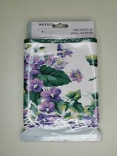 Waverly Garden Room Sweet Violets Wall Border Wallpaper 6 7/8 In X 15 Ft New