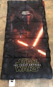 Star Wars The Force Awakens Kids Youth Sleeping Bag Kylo Ren Red Light Saber