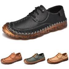 Mens Business Leisure Faux Leather Shoes Driving Moccasins Pumps Slip on Flats L